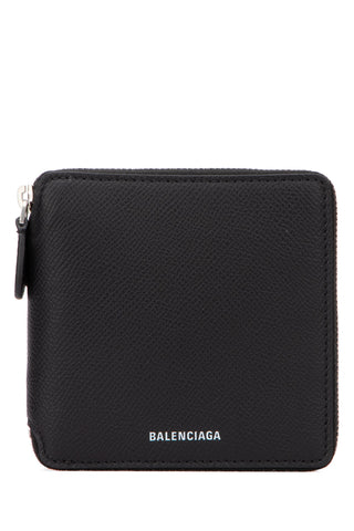 Balenciaga Square Zipped Logo Wallet
