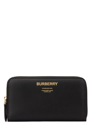 Burberry Zipped Logo Wallet