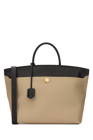 Burberry Society Top Handle Bag