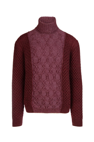 Missoni Turtle Neck Long Sleeved Knit