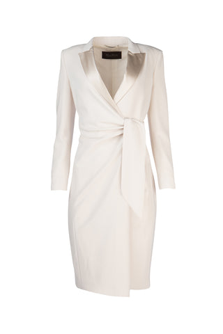 Max Mara Wrapped Tie Waist Dress