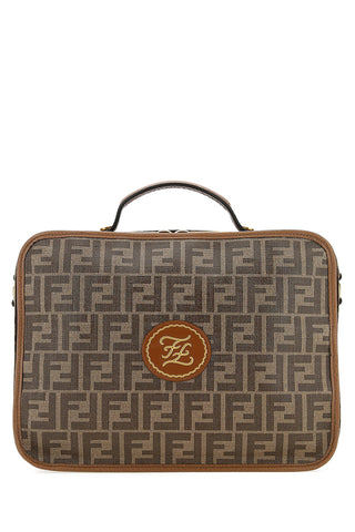 Fendi FF Logo Travel Suitcase