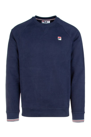 Fila Ribbed Hem Logo Embroidered Sweater
