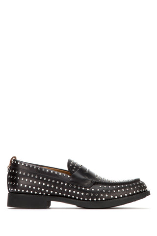 Burberry Studded D-Ring Detail Loafers