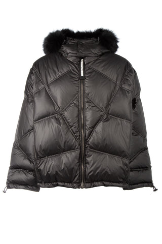 As65 Fur Trimmed Puffer Jacket