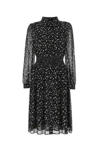 Michael Michael Kors Polka Dot Shirt Dress