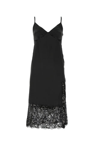 Michael Michael Kors Lace Embellished Trim Slip Dress