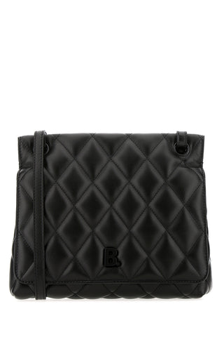 Balenciaga B Medium Quilted Shoulder Bag