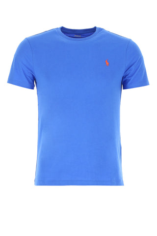 Polo Ralph Lauren Logo Embroidered Crewneck T-Shirt