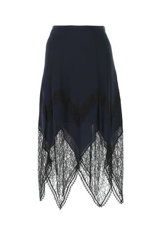 See By Chloé Lace Detail Skirt