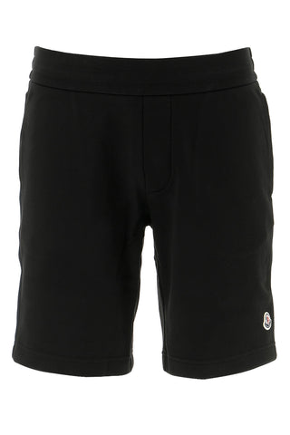 Moncler Stripe Trim Track Shorts