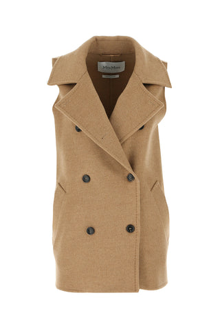 Max Mara Double Breasted Gilet