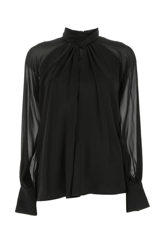 Max Mara Draped Blouse