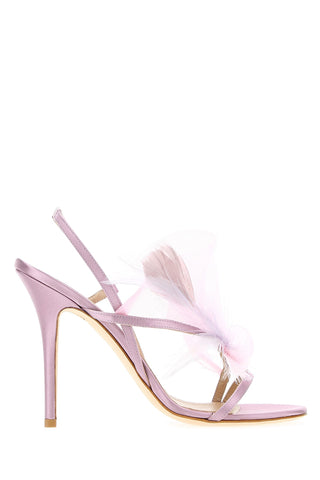 Andrea Mondin Kate Feather Detail Sandals