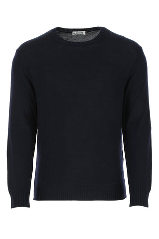 Jil Sander Ribbed Crew-Neck Sweater