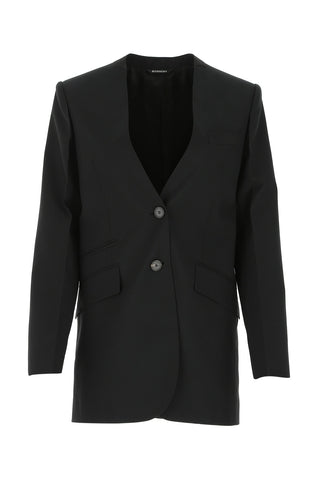 Givenchy Collarless Tailored Blazer