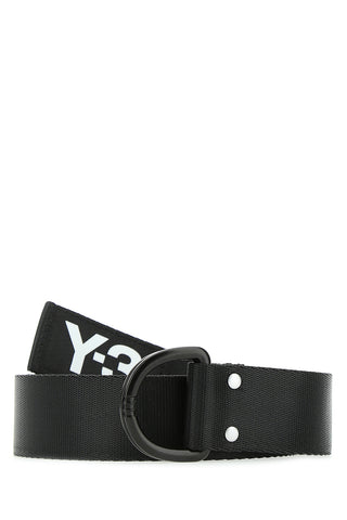 Y-3 Logo Printed Belt