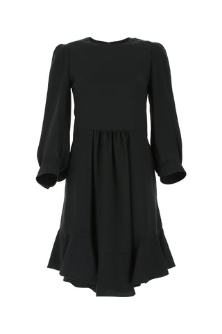 Chloé Ruffled Long-Sleeve Dress
