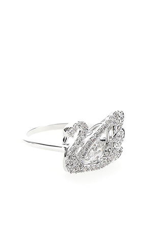 Swarovski Dancing Swan Ring