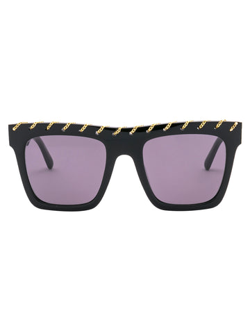 Stella McCartney Eyewear Embellished Chain Sunglasses