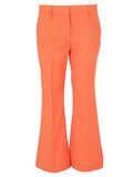 MSGM High-Waisted Flared Trousers