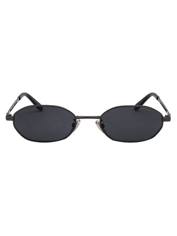 Jimmy Choo Eyewear Oval Retro Style Sunglasses