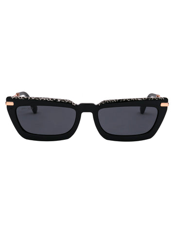 Jimmy Choo Eyewear Rectangular Frame Sunglasses