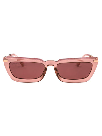Jimmy Choo Eyewear Rectangular Retro Style Sunglasses