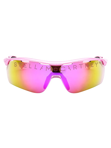 Stella McCartney Eyewear Gradient Lens Sport Sunglasses