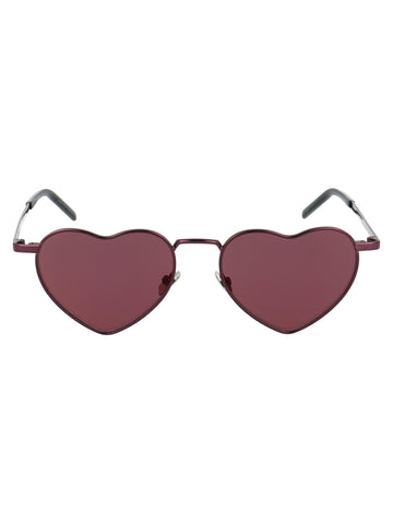 Saint Laurent Eyewear Heart Shape Sunglasses