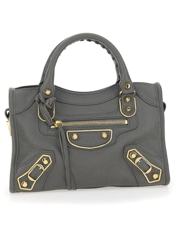 Balenciaga Metallic Edge Mini City Tote Bag
