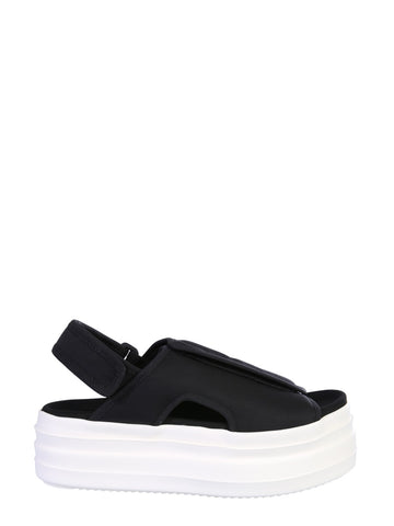 Rick Owens Drkshdw Star Embroidered Sandals