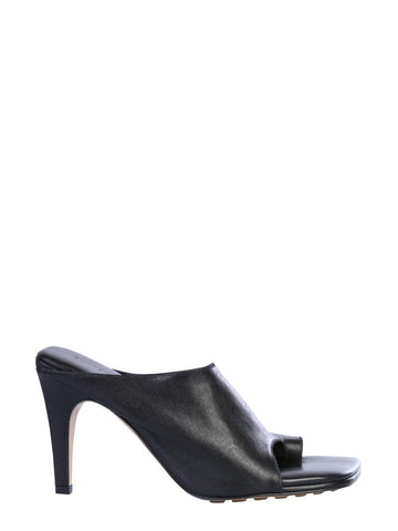 Bottega Veneta Square Toe Mules