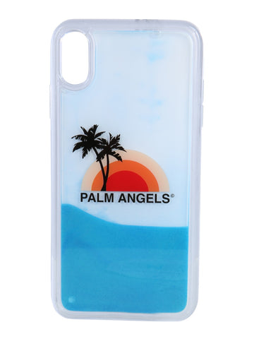 Palm Angels Sunset Logo iPhone XS Case
