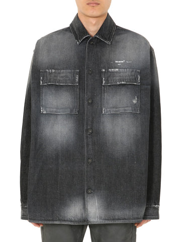 Off-White Faded Denim Shirt