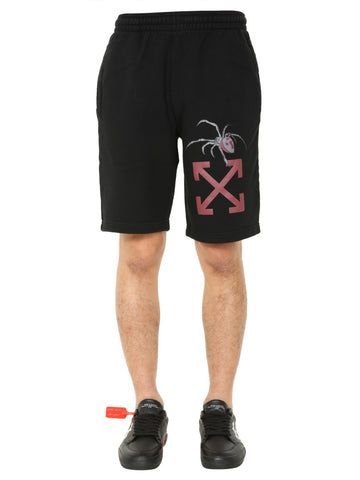 Off-White Graphic Printed Track Shorts