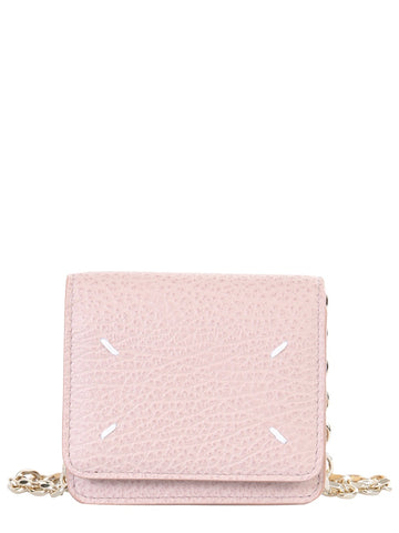 Maison Margiela 4-Stitch Chain Strap Wallet
