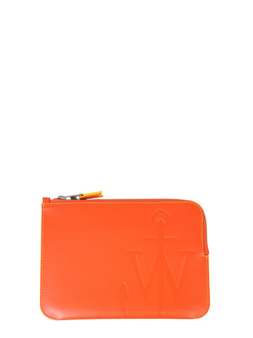 JW Anderson Anchor Embossed Pouch