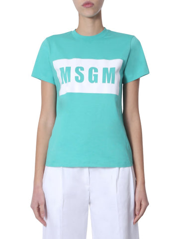 MSGM Box Logo T-Shirt