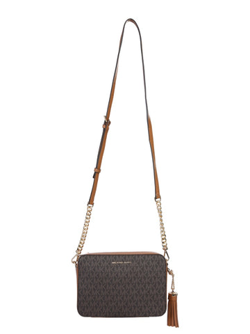 Michael Michael Kors Ginny Medium Logo Crossbody Bag