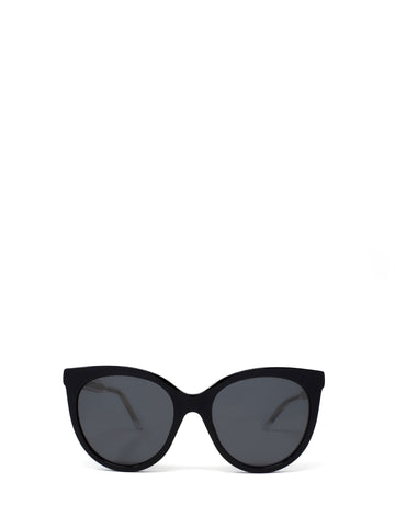 Gucci Eyewear Round Cat Eye Frame Sunglasses