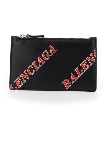 Balenciaga Logo Card Case