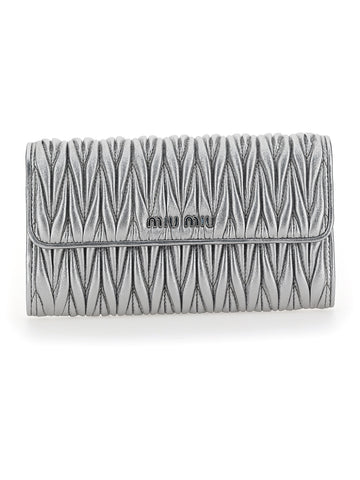 Miu Miu Matelassé Clutch Bag