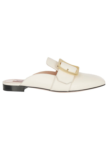 Bally Janesse Buckle Mules