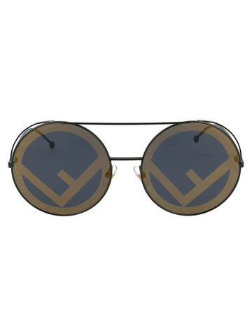 Fendi Eyewear Circle Lens Sunglasses