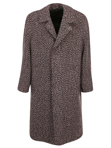 Salvatore Ferragamo Single Breasted Relax Fit Coat
