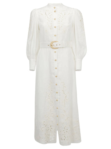 Zimmermann Floral Embroidered Dress