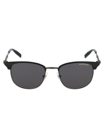 Montblanc Squared Frame Sunglasses