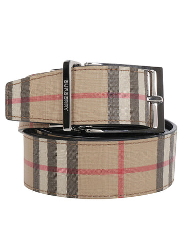 Burberry Reversible Vintage Checked Belt