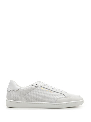 Saint Laurent Court Classic Perforated Detail Sneakers